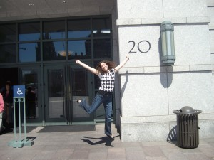 I'm 20! And they have 20 doors at the Conference center!