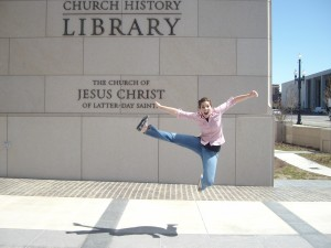 Carmen's awesome jumping picture