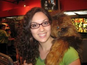 Sarah & Chewbacca