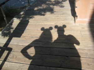 our cute shadows
