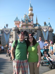 Brett & Sarah at Disneyland!