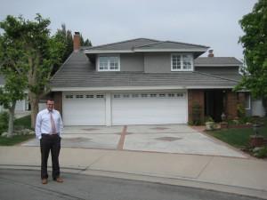 Brett's Anaheim house