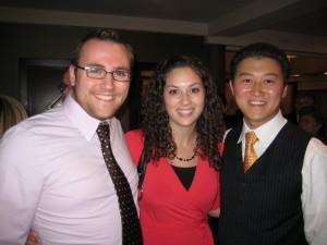 Brett, Sarah & Cam Audong