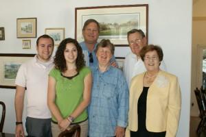 Brett, Sarah, Dave Bernhisel, Janet, Dave & Judy Rosenlof