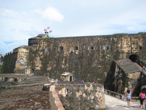 El Morro from the back