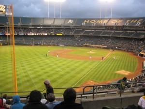 A's field