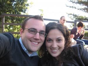Brett & Sarah at Shakespeare in the Park