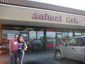 Brett & Sarah at Animal Ark