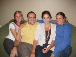 Ashley, Brett, Sarah & Kelly