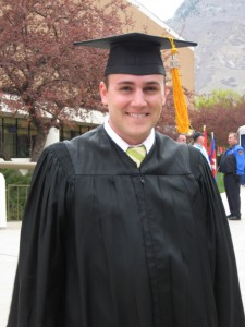 Brett graduated April 2008