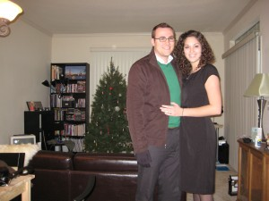 We celebrated our one year anniversary in December 2008