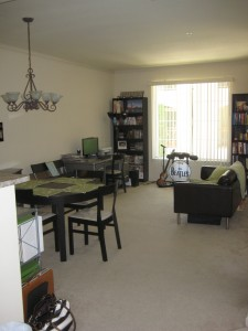 In June 2010, we moved from our San Jose apartment...