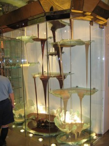 World's largest chocolate fountain!