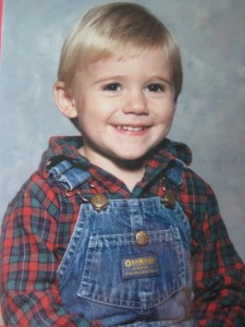 Brett at 2 years old