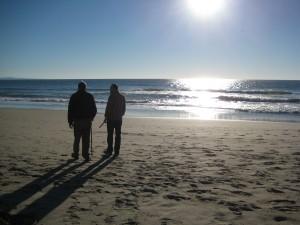 Grandpa, Brett Pajaro Beach